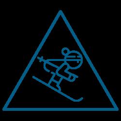 Skieur prudent
